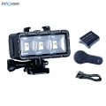 PROOCAM PRO-F163 LED light High Power Dimmable Waterproof Video Light for Gopro Hero 4 5 6 7