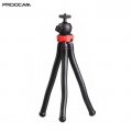 PROOCAM TBT-12 Mobile and camera flexible ballhead table travel portable tripod (Solid materail)