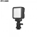 Proocam W49S Led light With Rotatable Shoe Mount Adapter for Nikon Sony Pentax Panasonic DSLR Cameras
