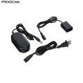 Proocam ACK-FW50 Pw20 AC POWER Adapter Kit for Sony Fw-50 A6000 A7 A6500
