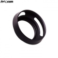 PROOCAM 37mm-77mm Metal Lens Hood Shade for Leica Nikon canon Fujifilm Olympus Lens Black