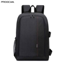 Proocam 8018 Dslr Camera Laptop backpack 15.6 17 inch Anti-theft Camera Video backpack bag