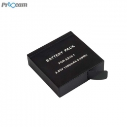 Proocam AZ16-1 for Xiao YI 2 mi 4K Action camera Battery