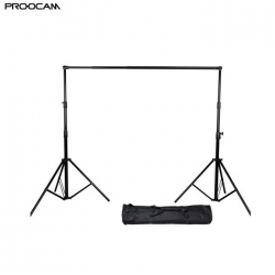 Proocam BG-300 3 X 3 meter photo studio backdrop background stand heavy duty with bag