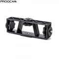 Proocam BRK-03 3 side hot screw Multi-position Mobile Phone Live Broadcasting Support Clip Bracket Holder Mount Adapter