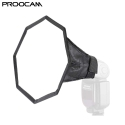 Proocam DF-02 20cm Octagon Universal Softbox Flash Diffuser for Speedlit flash light Nikon Canon Sony Olympus