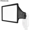 Proocam DF-04 Universal Square Softbox Flash Diffuser For Speedlite Nikon Canon Sony Olympus