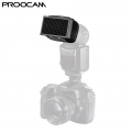 Proocam DF-05 Universal Honeycomb Grid for External Camera Flashes Speedlite Nikon Canon Sony Olympus -Black