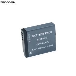 Proocam Viloso DMW-BLH7 Battery Lumix DMC-GM1 GM5 GF7 GF8 GF9 LX10 LX15 Camera