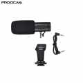 Proocam M3 Microphone On Camera Phone Video Stereo Recording Microphone Condenser Mic No need Battery For smartphone and camera