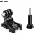 Proocam Pro-F133 360-degree High Turntable Quick Buckle with Screw for Gopro Hero SJCAM DJI osmo Action