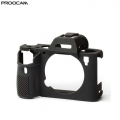Proocam Silicone Case Cover Protective Skin for Sony A7 II - Black