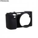 Proocam Silicone Case Cover Protective Skin for Sony A6000 - Black