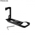 Proocam Sony A7III Metal Quick Release L-Plate Bracket Hand Grip Arca-Swiss Mount