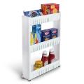 Delly Shelf Kitchen Toilet Home living Bottle Rack Trolley Slim Storage Cart Stock Ready For Sugar- DT-3L