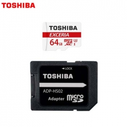 Toshiba 64GB Micro SD Memory Card EXCERIA™ M302 R 90mb/s with Adapter