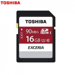 Toshiba 16GB SD EXCERIA™ - Memory Card N302 R 90mb/s - Made in Japan