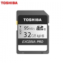 Toshiba 32GB SD EXCERIA™ PRO Memory Card N401 R 95mb/s - Made in Japan