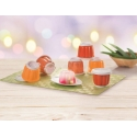 New Tuperware Jellette Jelly Mold Cup Set (6)