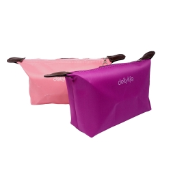Dellylife CMB-PI Cosmetic Pouch Travel Small Bag Waterproof for cosmetics Stationary tools gadget product – PINK