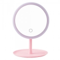 Delly LMM-1P LED Makeup Mirror with Touch Sensor Table Beauty Pink with stand light Face Cosmetic Mirror with Storage