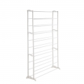 Delly White Muilti layer Shoe Rack 10 Layers Tiers fit for 50 pair shoe Assemble Storage Shelf Space ML-10W