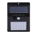 Delly 20 LED Solar Light PIR Motion Sensor Light Control Led Lighting Waterproof Wall Light Outdoor OSL-20S