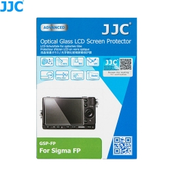 JJC GSP-FP Ultra-Thin 9H 2.5D Tempered Glass Clear LCD Screen Protector for Sigma FP