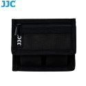 JJC BC-P2 Battery Pouch holds 2 DSLR batteries and 2 SD/XQD/CF cards
