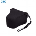 JJC OC-F2BK Black Neoprene Mirrorless Camera Case for Fujifilm Olympus Camera