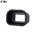 Kiwifotos KE-EP17 Long Camera Eyecup replaces Sony FDA-EP17 for Sony a6400, a6500, a6600