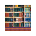 Proocam Library Design Background Canves Material M-1449