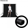 Proocam NWC-330-GR 3 X 3 meter Non woven cloth background for photographer - Black