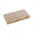 Mini Wood Pallet Coasters for Coffee Tea Drinks 1.8cm x 8cm x 12cm