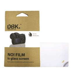 DBK Self-adhesive Glass Protection LCD for Camera Canon 60D 550D 650D 600D