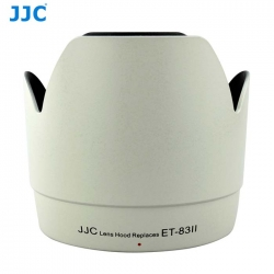 JJC LH-83II (W) White Professional Lens Hood For Canon EF 70-200 f/2.8L USM Replaces ET-83II