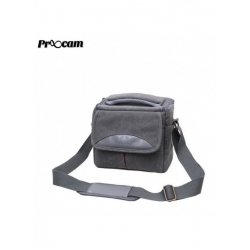 Proocam SDL-G Soudelor Sling Zip Travel Styler for Mirrorless Digital Camera -Grey