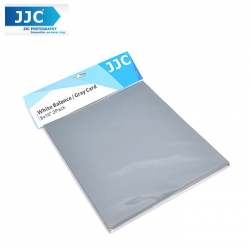 JJC GC-1 2 IN 1 WHITE BALANCE GRAY CARD