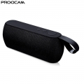 PROOCAM Q106-Black Wireless Portable Bluetooth Speaker Stereo Compatible TF Card FM Radio AUX Input Outdoor Black