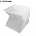 Proocam EASYGO 40cm Portable Studio Photo LIGHT TENT DUAL LED Light Product (YTP-3)